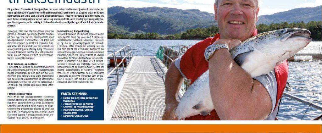 Steinvik fiskefarm artikkel