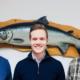 Tre generasjonar Vassbotten, Alex, Erlend og Inge Helge - Steinvik Fiskefarm